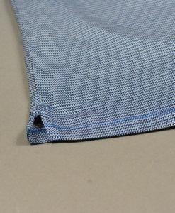 Détail KITARO MEN à la Boutique SUITE 61, Polo bleu à motifs