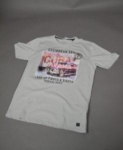 T-shirt imprimé esprit carte postale de la Havane, parfait pour une tenue estivale.