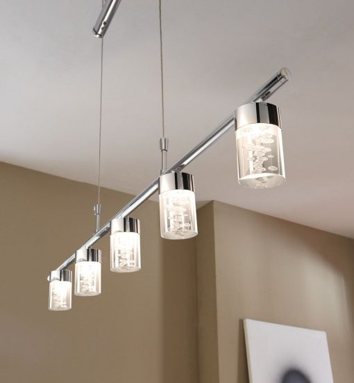 Gallery of suspension cinq lampes led with suspension cercle led - Lampe cercle led ...