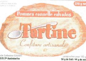 CONFITURES TARTINE