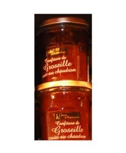 Confitures Jean d'Audignac- cuites au chaudron-Groseilles