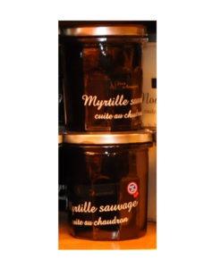 Confitures Jean d'Audignac- cuites au chaudron- Myrtille sauvage