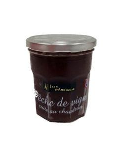 Confitures Jean d'Audignac- cuites au chaudron- Pêche de vigne