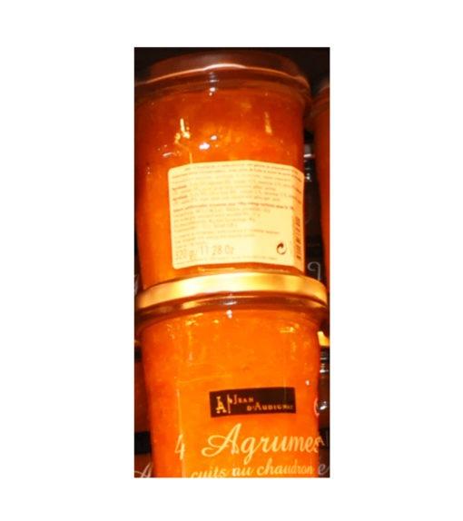 Confitures Jean d'Audignac- cuites au chaudron-4 Agrumes