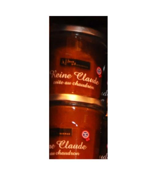 Confitures Jean d'Audignac- cuites au chaudron- Reine Claude