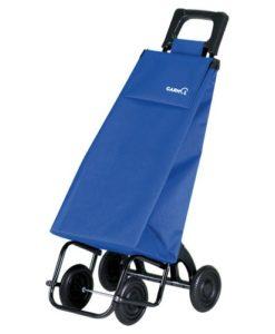 Poussette de marché 4 roues - Liso Bleu Roi Cuatre - GARMOL
