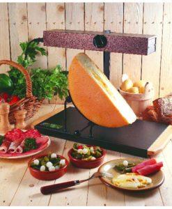 Rampe raclette 1/2 meule montagnard - BRON COUCKE