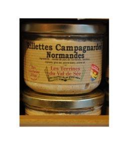 Terrine artisanales - de Rillettes campagnardes Normandes