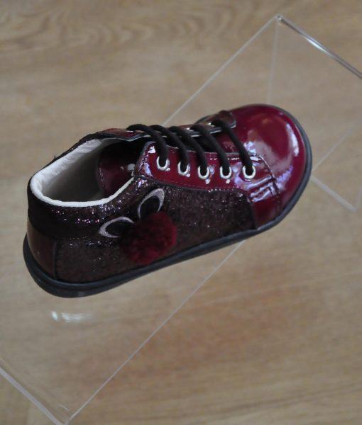 26f4416813487 bottines 19 bordeaux lacets chaussures Taille fermeture fille et Tqgxzdvw