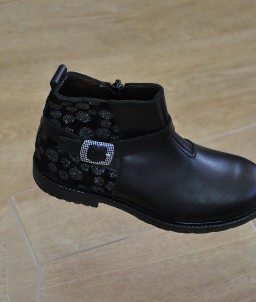 8fb9afaccf726 chaussures bottines fille noir Taille   24 au 27 et 28 au 34 et 35 ...