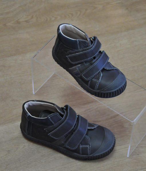 8a101d0906a6f chaussures bottines velcro fille gris Taille   24 au 27 et 28 au 34 ...