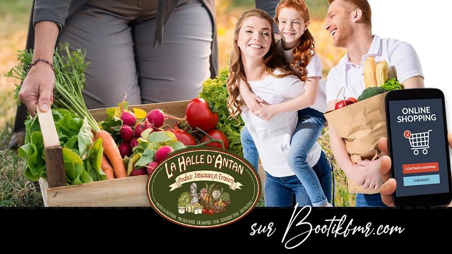 la halle d'antan à yerville est sur Bootikfmr.com vente à emporter de fruits et légumes