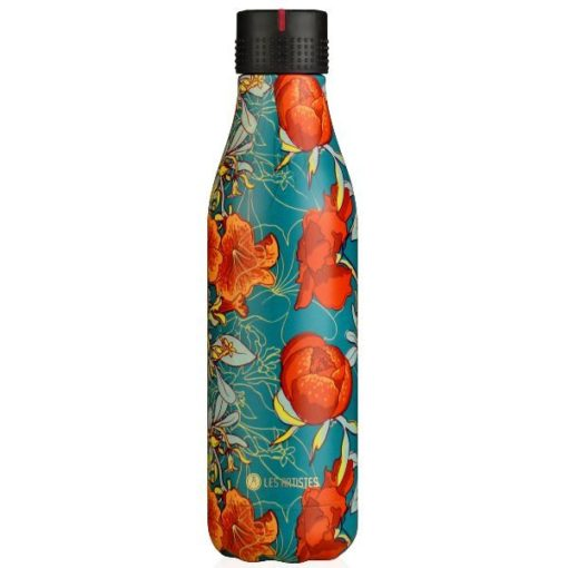 Bouteille isotherme 500 ml Pivoines - Bottle'Up Expression - LES ARTISTES