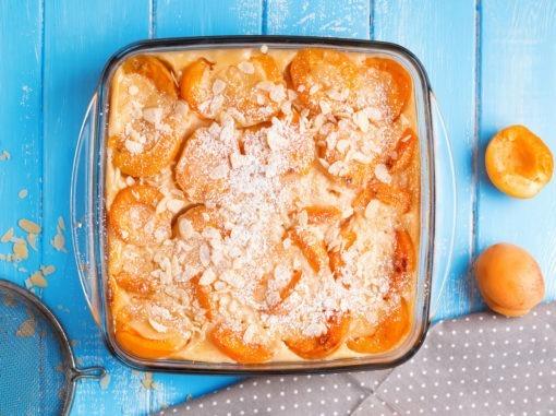 Gâteaux et pâtisseries, clafoutis d'abricots