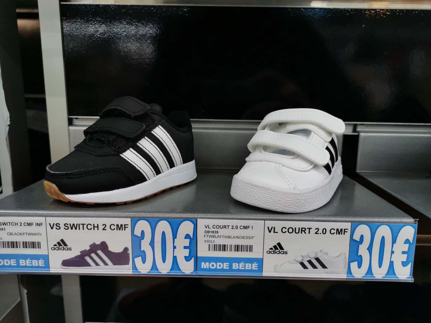 sneakers enfant vl court 2.0 adidas