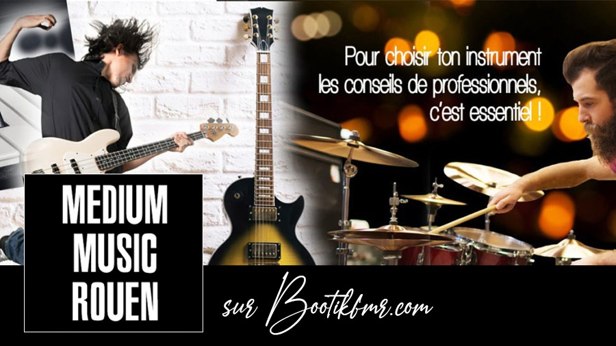 Boutique Medium Music sur Bootikfmr.com Marketplace Click and Collect e-reservation