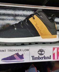 Timberland | Baskets basses cuir SPRINT TREKKER LOW homme