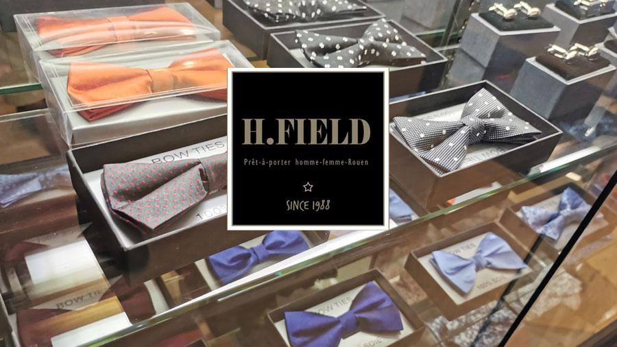 chemises hommes et cravates, H FIELD Boutique de prêt-à-porter homme & femme Rouen